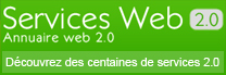 Services Web 2.0 - Annuaire des services et des applications web 2.0
